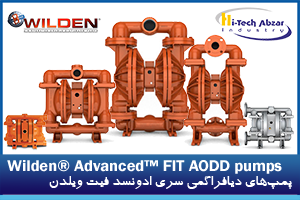 1 Wilden Advanced FIT AODD pumps